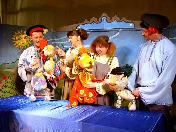 Детская афиша Белгорода: «Петушок-золотой гребешок» в Театре кукол
