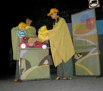 Сказка о пользе правил дорожного движения «Час погони» в театре кукол Белгорода