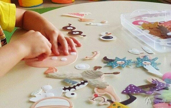 Курс «Арт-терапия» в клубе досуга и творчества «Шелковые детки»: Детская афиша Белгорода
