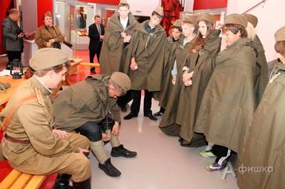 Интерактивная программа «Курс молодого бойца» в Музее боевой славы «Третье ратное поле России»