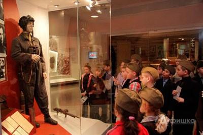 Экскурсия «Юные летчики и танкисты» в Музее боевой славы «Третье ратное поле России»
