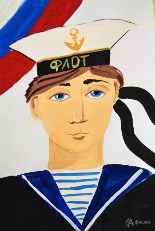 Занятие «Бравый моряк» в изостудии клуба «Шёлковые детки»: Детская афиша Белгорода