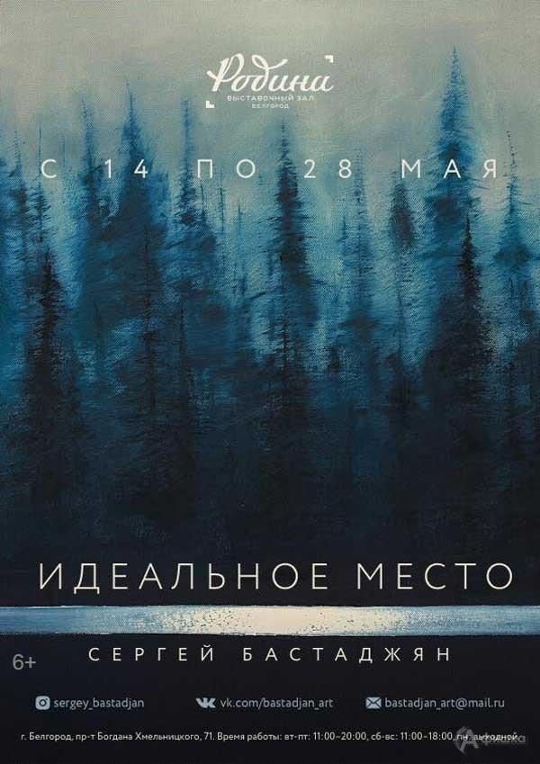 II персональная выставка Сергея Бастаджяна «Идеальное место»: Афиша выставок в Белгороде