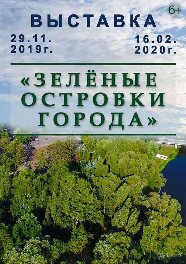Выставка о парках Белгорода «Зелёные островки города»: Афиша выставок в Белгороде