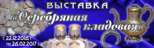 Выставка «Серебряная кладовая» в Белгородском краеведческом музее: Афиша музеев Белгорода