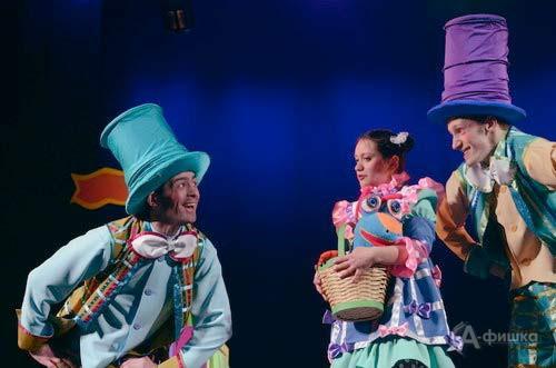 Спектакль «Ключ от королевства» Ивановского театра кукол: Детская афиша Белгорода