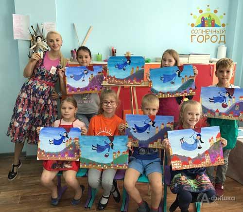 Уникальный цикл занятий «Литературная живопись»: Детская афиша Белгорода