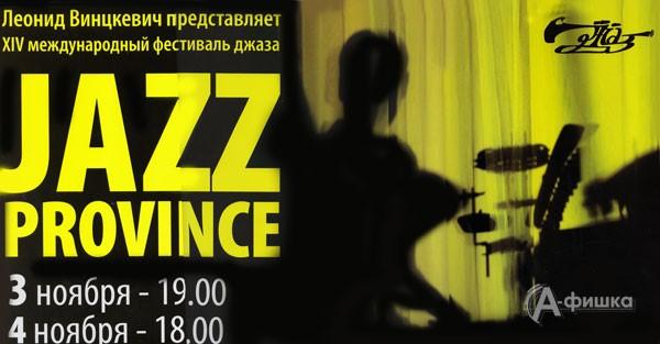 XIV международный фестиваль «Джазовая провинция» в Белгороде