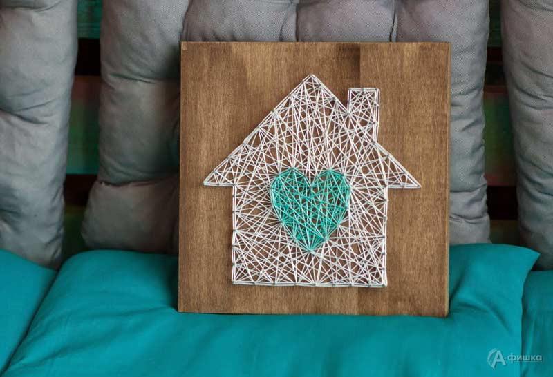 Мастер-класс «String art»: Декор из гвоздей и ниток в СэндПРО Белгород: Детская афиша Белгорода