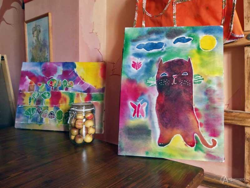 Мини-курс росписи по ткани «Батик» в студии СэндПРО: Детская афиша Белгорода