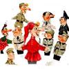 Детская афиша Белгорода: премьера спектакля «Петрушка на войне» в театре кукол