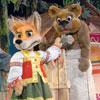 Детская афиша Белгорода: спектакль «Лиса и медведь» в рамках тура-фестиваля «Майская карусель»