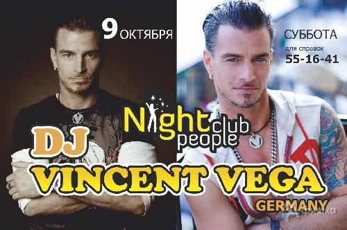 Клубы в Белгороде: DJ Vincent Vega в Night People Club