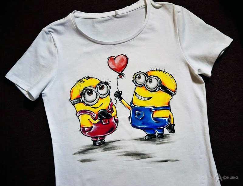 Мастер-класс «Раскрась футболку» в СэндПРО Белгород: Детская афиша Белгорода