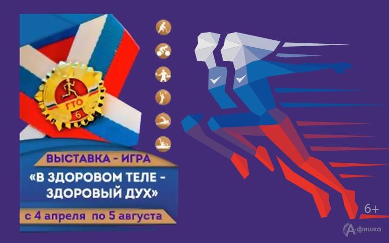 Выставка-игра «Вздоровом теле— здоровый дух» вКраеведческом музее: Афиша выставок вБелгороде