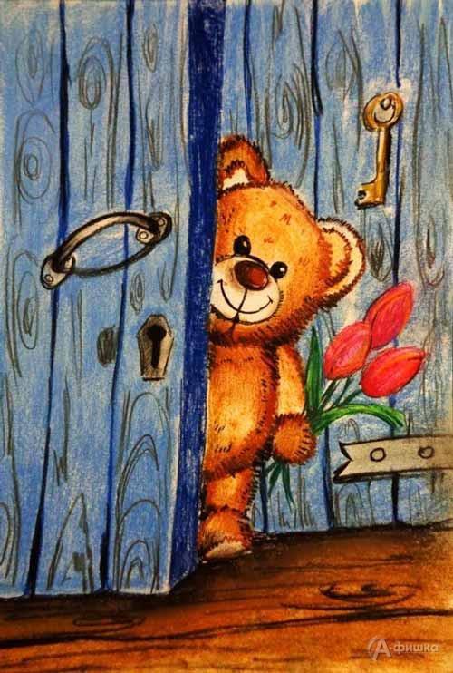 Занятие «Плюшевый мишка» визостудии клуба «Шёлковые детки»: Детская афиша Белгорода