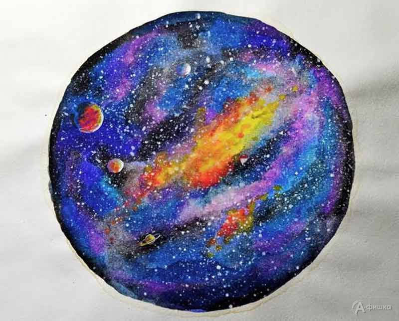 Мастер-класс «Рзноцветный мир космоса» в СэндПРО Белгород: Детская афиша Белгорода