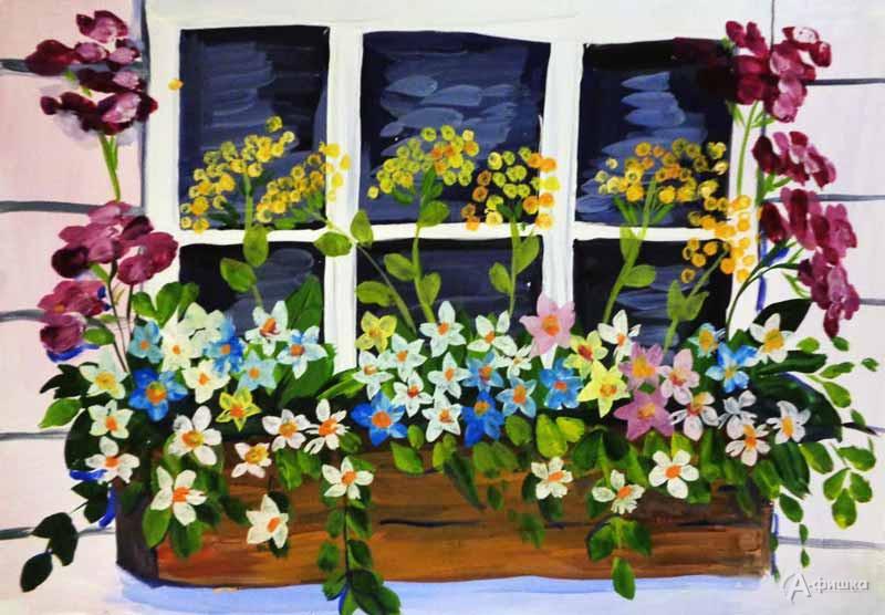 Занятие «Весеннее окно» визостудии клуба «Шёлковые детки»: Детская афиша Белгорода
