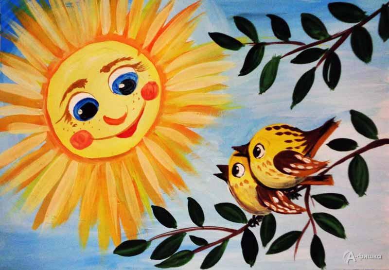 Занятие «Солнечное утро» визостудии клуба «Шёлковые детки»: Детская афиша Белгорода