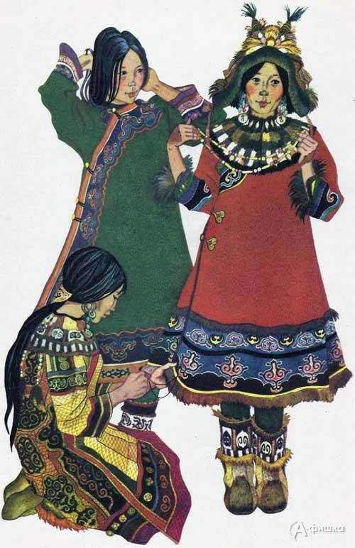Занимательный урок «Удэгейский женский костюм»: Детская афиша Белгорода