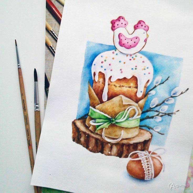 Мастер-класс «Пасхальная food-иллюстрация» в СэндПРО Белгород: Детская афиша Белгорода