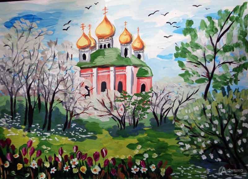 Занятие «Цветущий сад» визостудии клуба «Шёлковые детки»: Детская афиша Белгорода