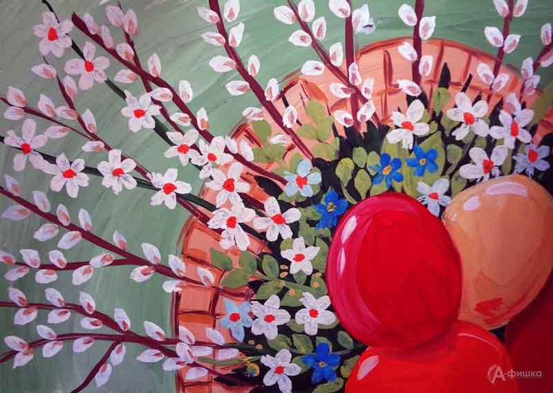 Занятие «Пасхальная композиция» визостудии клуба «Шёлковые детки»: Детская афиша Белгорода