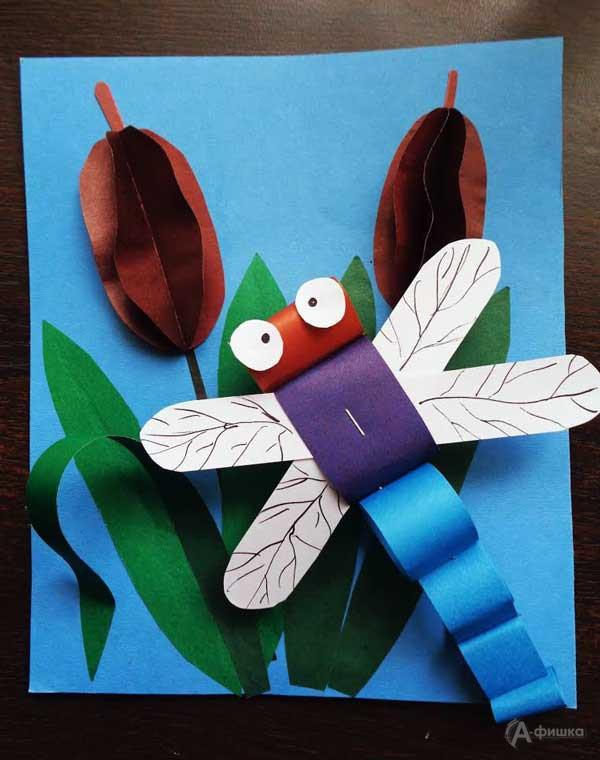Занятие «Стрекоза вкамышах» вклубе «Шёлковые детки»: Детская афиша Белгорода