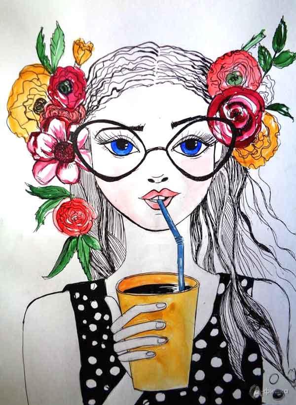 Занятие «Летнее настроение» визостудии клуба «Шёлковые детки»: Детская афиша Белгорода
