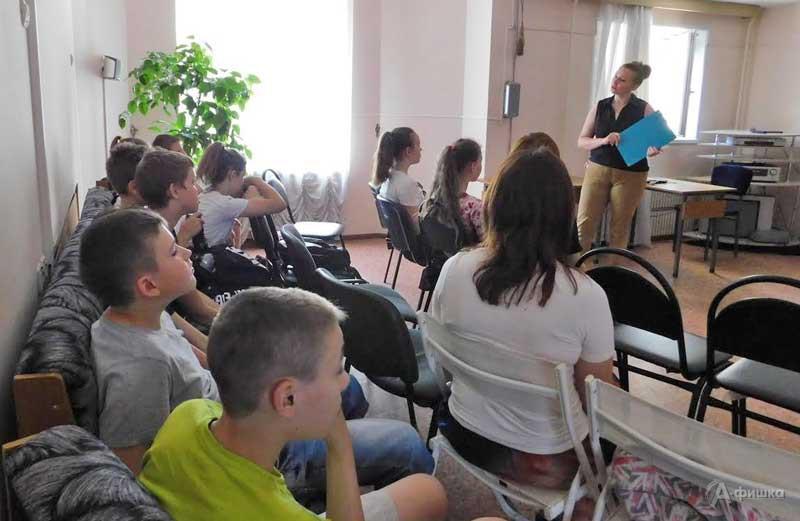 Час правовой информации «Вирус сквернословия»: Детская афиша Белгорода