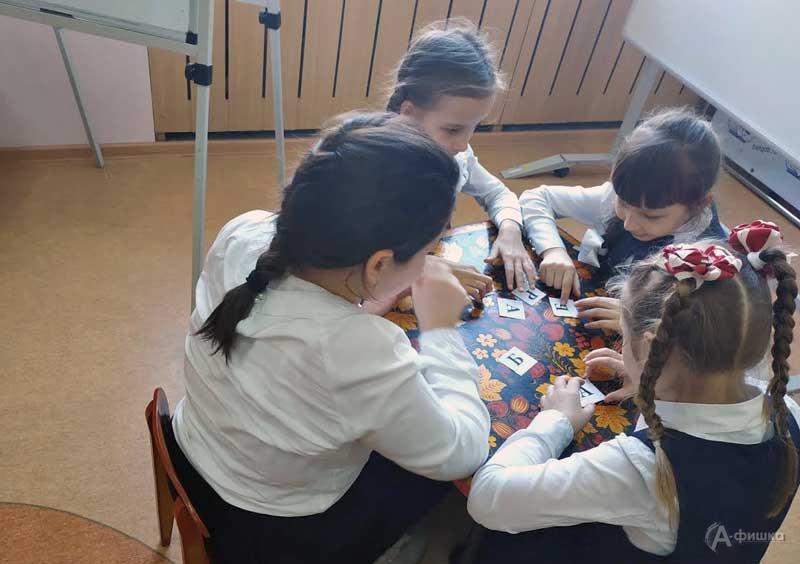 Акция «Погибаю— помогите, умоляю— защитите! Русский язык»: Детская афиша Белгорода