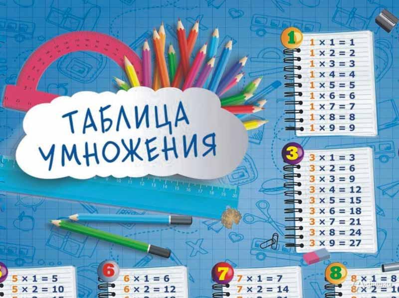 Игровое занятие «Таблица умножения легко»: Детская афиша Белгорода