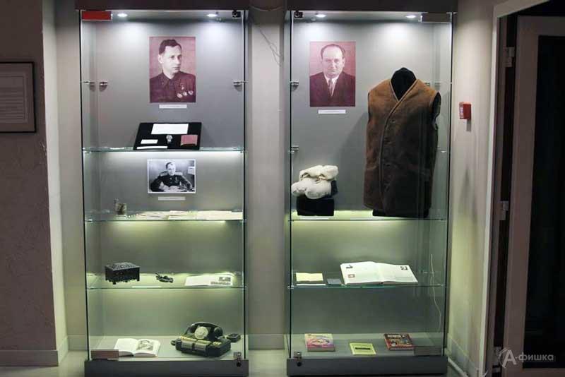 Мини-выставка «Руководители военного времени» в музее-заповеднике «Прохоровское поле»