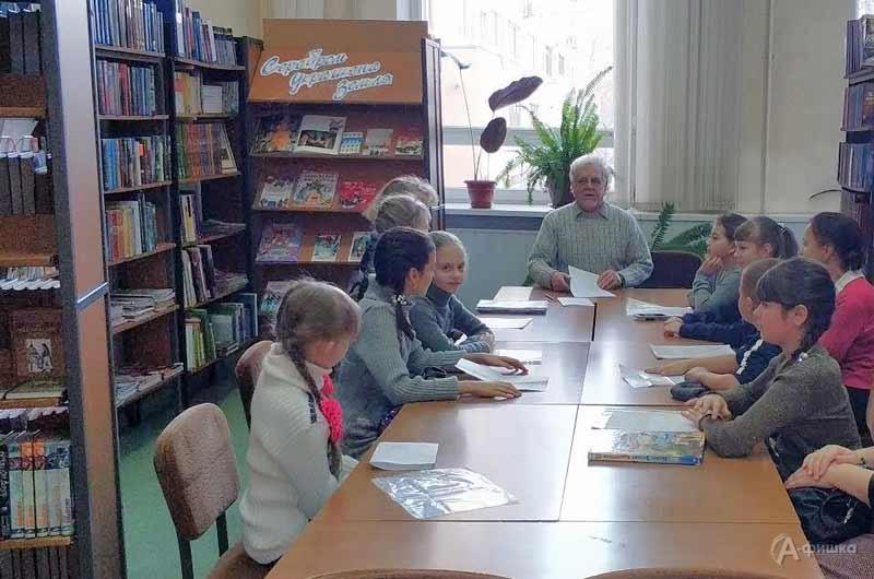 Занятие поосновам стихосложения «Рифма— звонкая подруга»: Детская афиша Белгорода