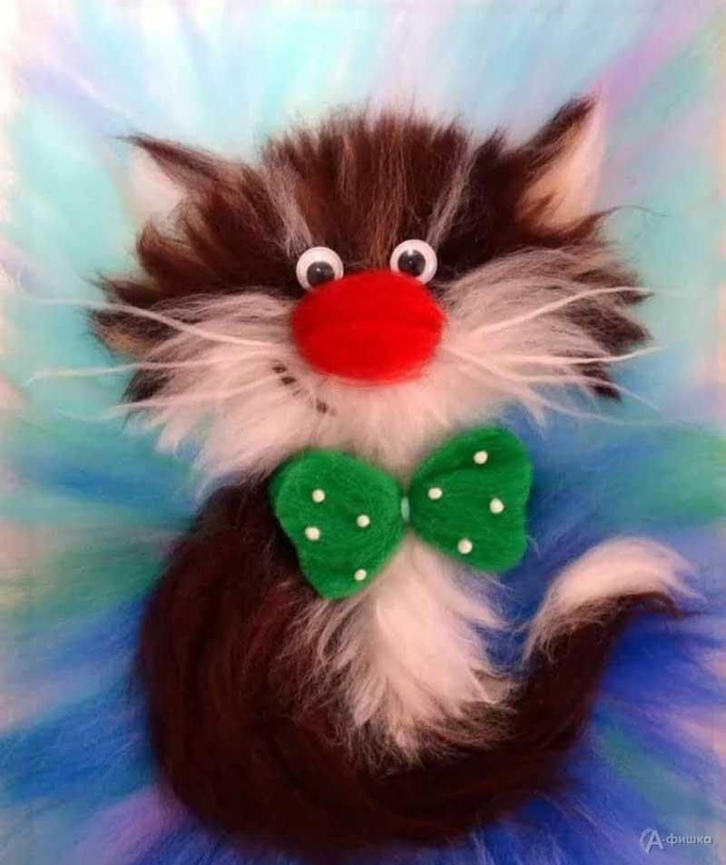 Мастер-класс «Рисование шерстью: Котик»: Детская афиша Белгорода