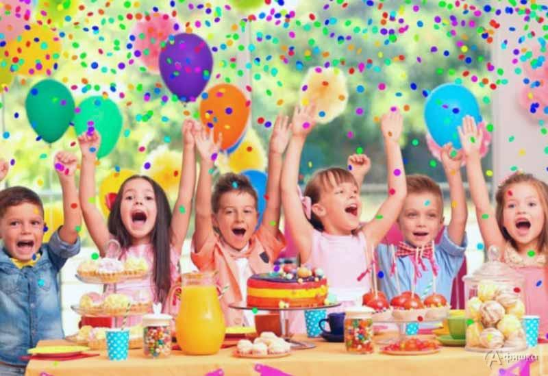 Детский праздник «Сладкая вечеринка»: Детская афиша Белгорода