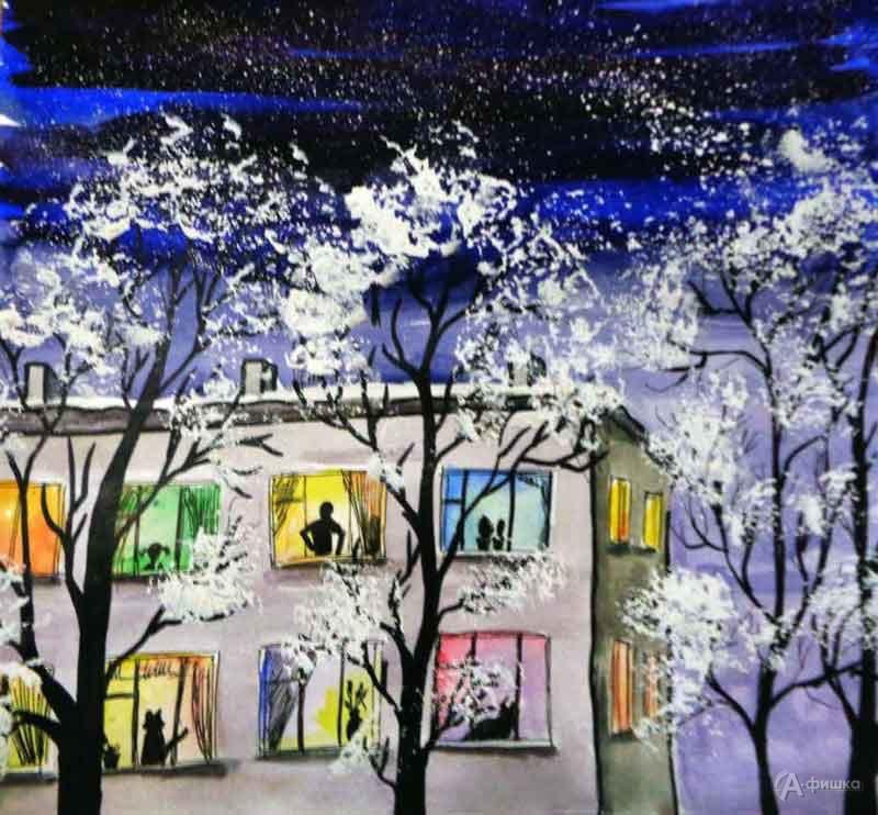 Занятие визостудии «Зимние окна»: Детская афиша Белгорода