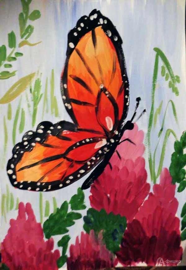 Занятие визостудии «Бабочка»: Детская афиша Белгорода