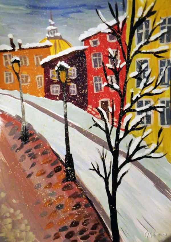 Занятие визостудии «Зимняя улица»: Детская афиша Белгорода