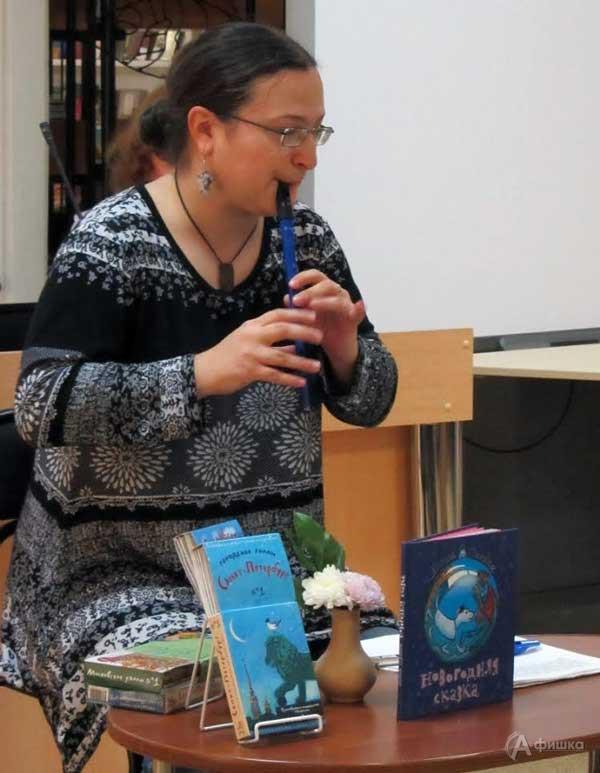 Встреча с Хельгой Патаки «Так начинается творчество»: Детская афиша Белгроода