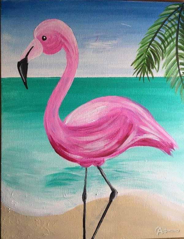Мастер-класс «Розовый фламинго»: Детская афиша Белгорода