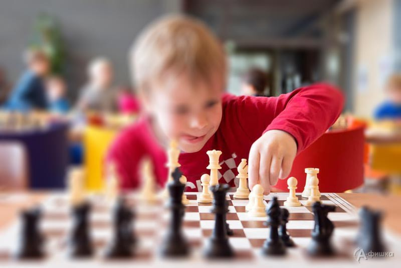 Игровые встречи «Занятия пошахматам»: Детская афиша Белгорода
