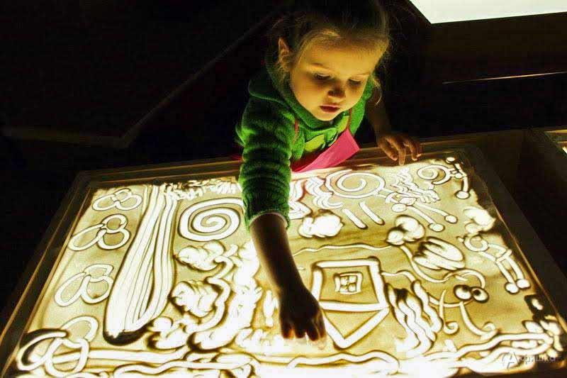 Мастер-класс «Волшебный песок»: Детская афиша Белгорода