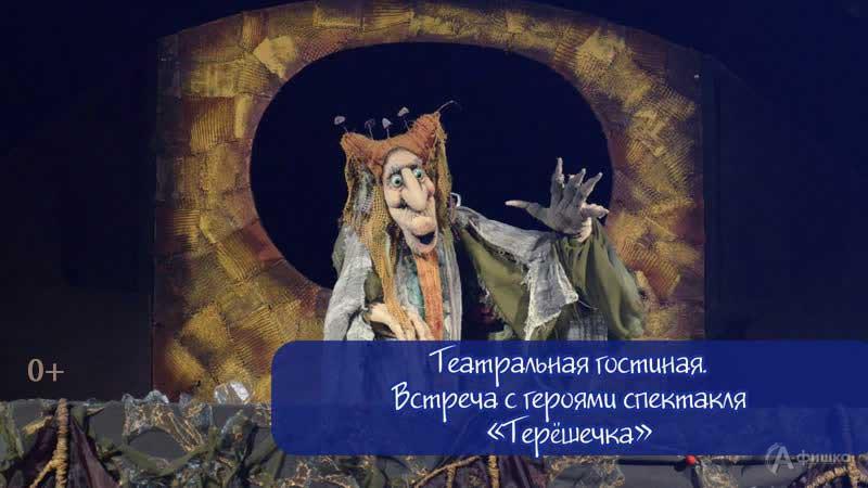 Встреча с героями спектакля «Терёшечка»: Детская афиша Белгорода