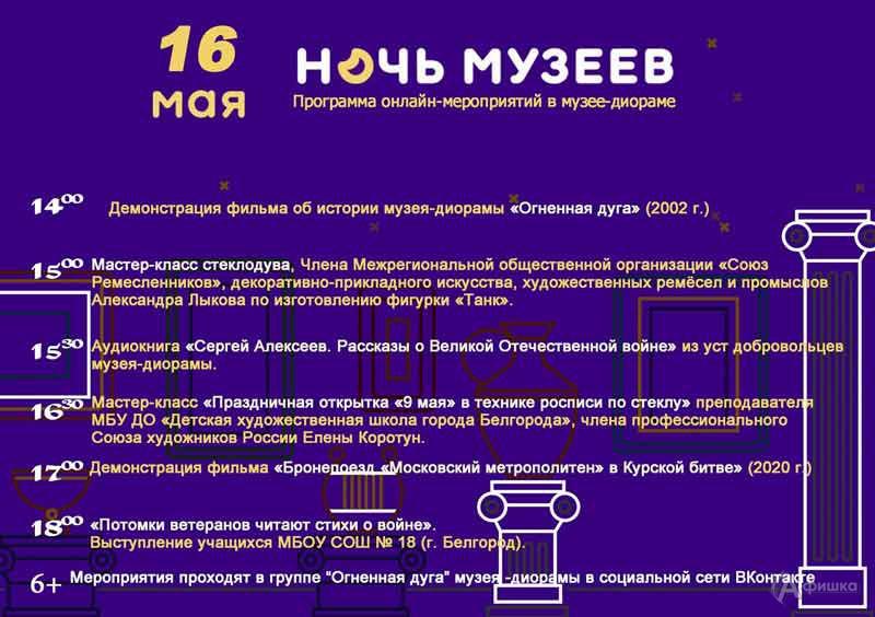 Акция «Ночь музеев 2020» в музее-диораме: Не пропусти в Белгороде