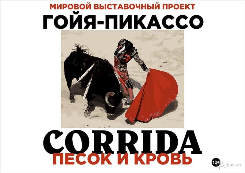 Выставка «Песок и кровь. Франсиско Гойя и Пабло Пикассо»: Афиша выставок в Белгороде