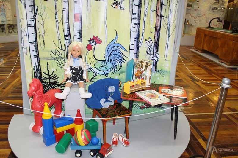 Музейная мозаика «Детство – время озорное»: Детская афиша Белгорода