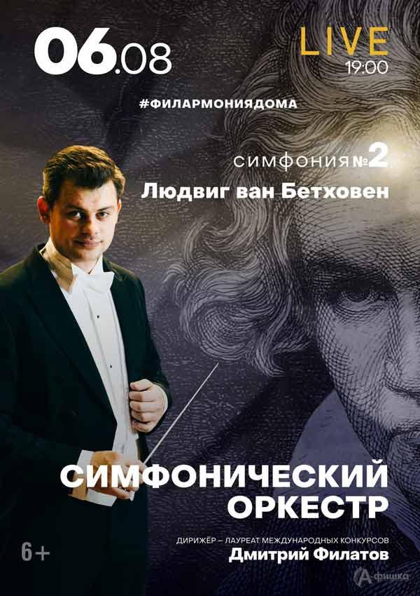 II концерт изцикла «Бетховен. Симфонии»: Афиша филармонии вБелгороде