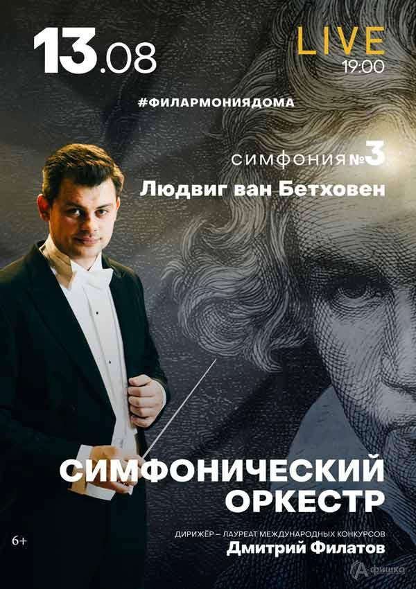 III концерт изцикла «Бетховен. Симфонии»: Афиша филармонии вБелгороде
