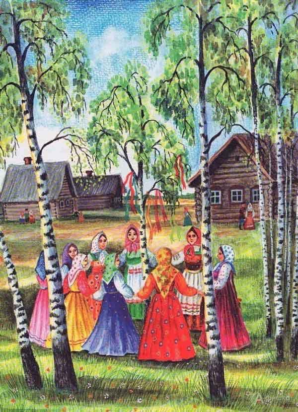 Сторителлинг «Народные праздники на святой Руси»: Детская афиша Белгорода